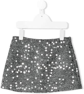 Il Gufo sequin embellished skirt