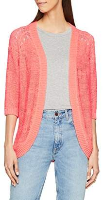 Only Women's Plain V-Neck 3/4 sleeve Cardigan