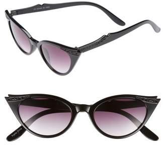 GLANCE EYEWEAR 50mm Exaggerated Sharp Cat Eye Sunglasses