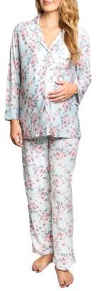 Women's Everly Grey Helena Maternity/nursing Pajamas $68 thestylecure.com