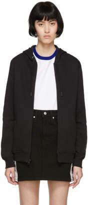 Calvin Klein Jeans Black Heavyweight Zip-UpHoodie