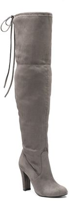 Candie's® Women's Chunky-Heel Over-The-Knee Boots $89.99 thestylecure.com
