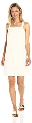 Paris Sunday Women's Square Neckline Back Bow Dress