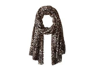 Collection XIIX Classic Leopard Blanket Wrap