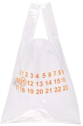Maison Margiela Transparent Shopping Bag - Mens - Orange
