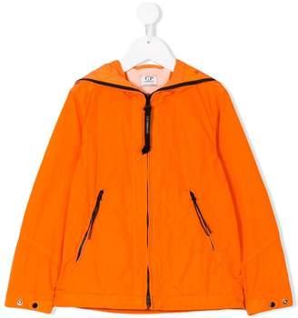 C.P. Company Kids hooded zipped jacket