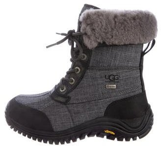 UGG Australia Adirondack Canvas Boots $75 thestylecure.com