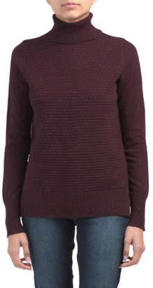 Drop Shoulder Donegal Wool Blend Sweater