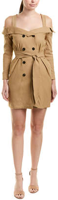 Lucca Couture Trench Mini Dress