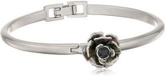 Marc Jacobs Flower Hinge Cuff Bracelet