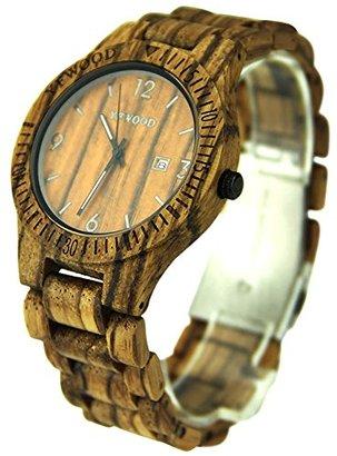 a06a084b4a YFWOOD 木製腕時計 メンズ レディース 優しい木の温もりを生かしたウッドウォッチ ユニセックス