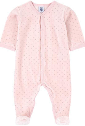 Petit Bateau Baby Pink Pajamas - Infant Sleepers