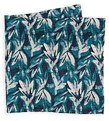 Giorgio Armani Men's Silk Melange Leaf Scarf