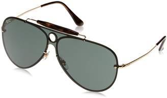 Ray-Ban Kids' Steel Unisex Aviator Sunglasses