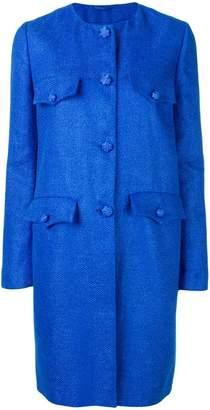 Ermanno Scervino single breasted midi coat