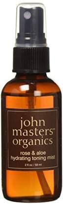 John Masters Organics Hydrating Toning Mist Rose and Aloe - 2 oz.