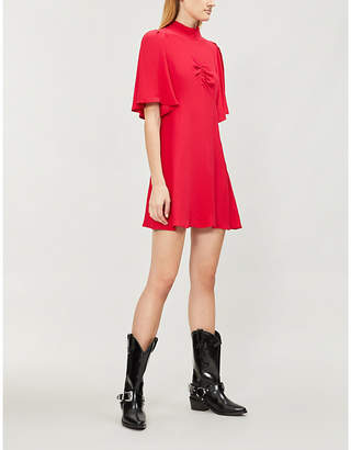 Free People Be My Baby crepe mini dress