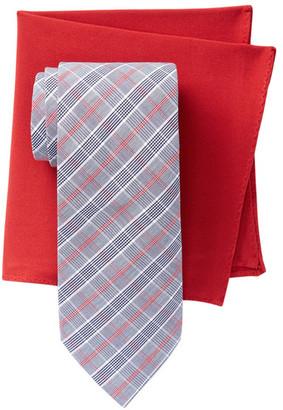 Alara Flatiron Plaid Tie & Pocket Square Box Set $95 thestylecure.com