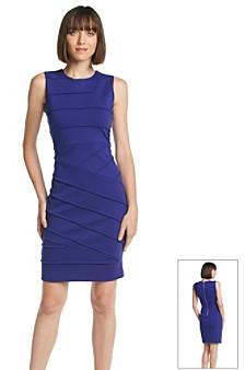 Calvin Klein Ponte Sheath Dress