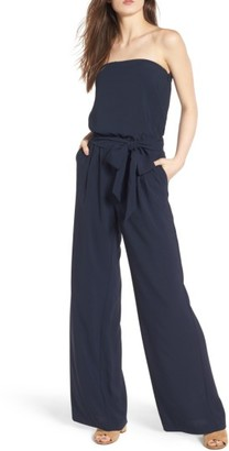 Women's Trouve Strapless Jumpsuit $79 thestylecure.com