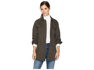 Levi's Four-Pocket Button Front Oversized Military