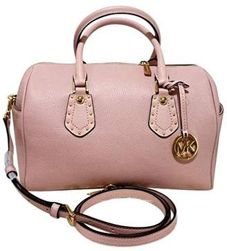 MICHAEL Michael Kors Women's ARIA MEDIUM Leather Satchel Studded Handbag