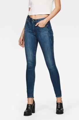 G Star Womens G-Star 3301 High Skinny Jeans - Blue