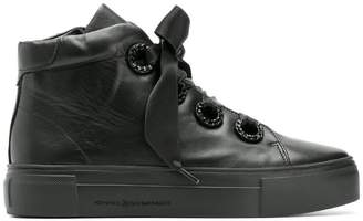 Kennel + Schmenger Kennel&Schmenger bow lace-up sneakers