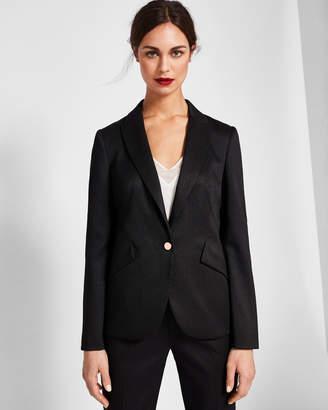 Ted Baker MIRAA Textured tailored suit jacket
