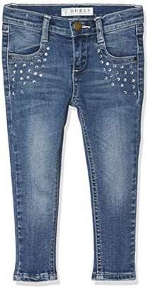 GUESS Girls' Pantaloni Skinny Denim Jeans, (Nineties Light Blue Nlbp), (Size: 2)