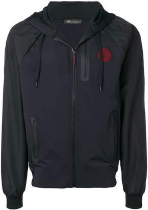 Versace hooded Medusa Head jacket
