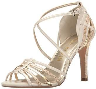 Anne Klein Women's Ileane Leather Heeled Sandal