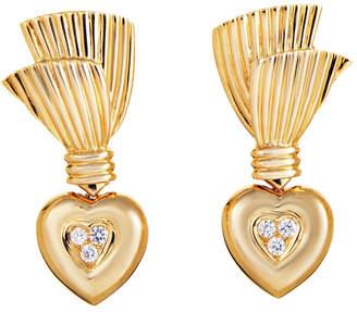 Van Cleef & Arpels Heritage  18K 0.40 Ct. Tw. Diamond Drop Earrings