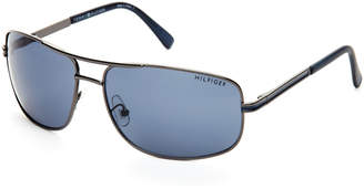Tommy Hilfiger Gunmetal Phillip Navigator Sunglasses