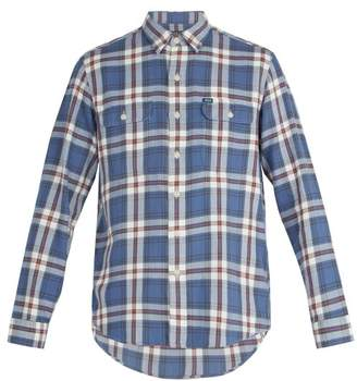 Polo Ralph Lauren - Plaid Print Cotton Poplin Shirt - Mens - Blue Multi