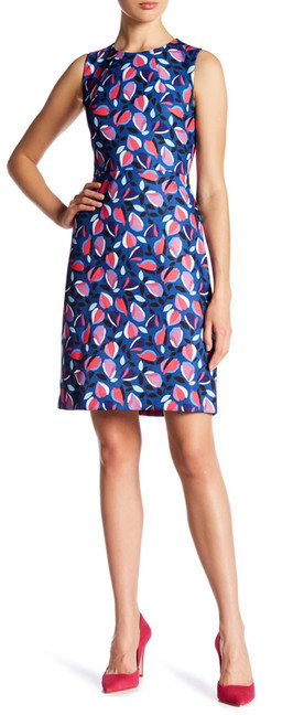 Anne Klein Anne Klein Printed Sheath Dress