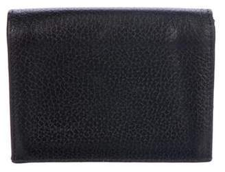 Thom Browne Leather Business Cardholder
