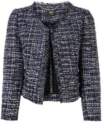 Liu Jo cropped tweed jacket