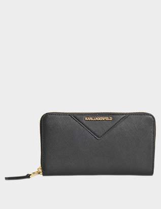 Karl Lagerfeld Klassik Zip Around wallet
