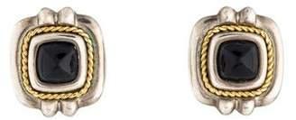 Tiffany & Co. Onyx Clip-On Earrings