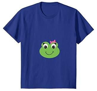 Frog Happy Face T-Shirt