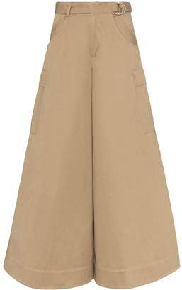 Asai wide-leg cargo trousers