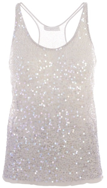 STELLA MCCARTNEY - Vest with sequins