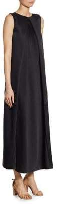 Jil Sander Pleated Sleeveless Gown