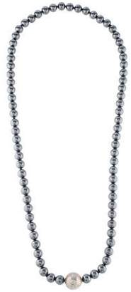 Tiffany & Co. Hematite Bead Strand Necklace
