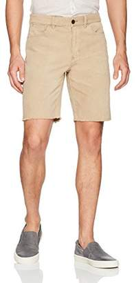 Michael Bastian Men's Washed Stretch Corduroy Cut Off Shorts