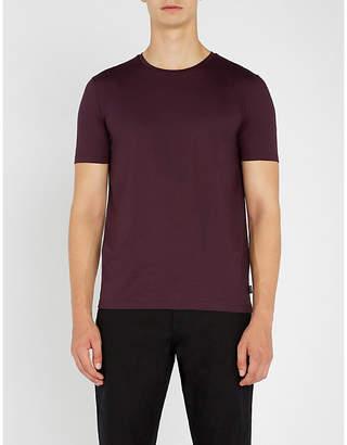 BOSS Slim-fit cotton-jersey T-shirt