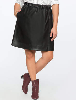ELOQUII x Katie Sturino Mini Skater Skirt