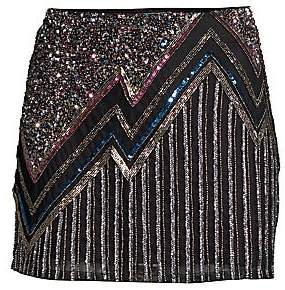 Parker Women's Corsica Beaded Mini Skirt