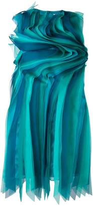 Gianluca Capannolo contoured frill dress